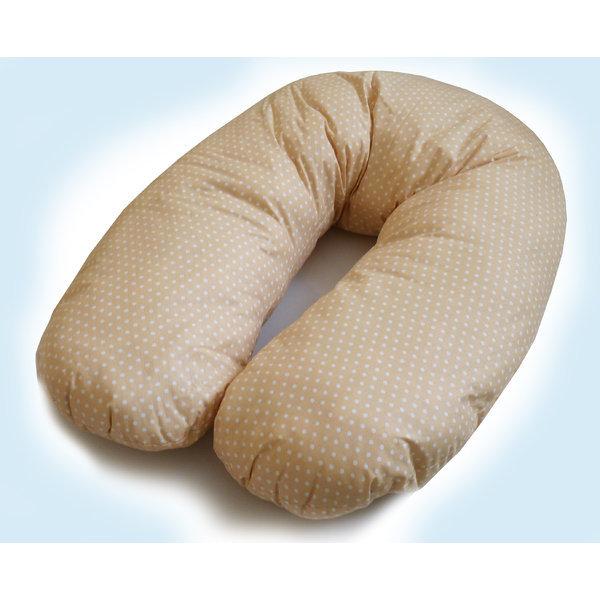 Възглавница за бременни и кърмене /ранфорс/ + силиконов пълнеж - възглавници за бременни